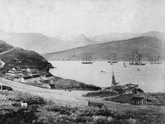 the Charlotte Jane anchored at Lyttelton at 10am on December 16, 1850, followed by the Randolph at 3.30pm. The Sir George Seymour anchored at 10am the following day and the Cressy arrived on December 27.