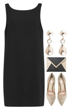 """▲minimal▲"" by emilypondng ❤ liked on Polyvore featuring Samsøe & Samsøe, Gianvito Rossi, Dune, minimalstyle and omchstyle"