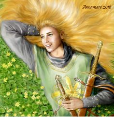 "Glorfindel, Lord of the Golden Flower by annamare I like him laughing – Glorfindel as ""fair and young and fearless and full of joy."" I am one of those who imagine one Glorfindel not two different ones."