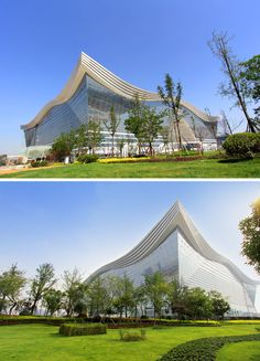 New Century Global Center in Chengdu, China (world's largest building in terms of floor space)