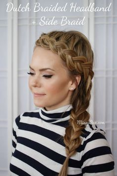 We all love Dutch braid hairstyles for their stunning look. They own a similar structure with the traditional British braid and French braid but show more fantastic and versatile. You can make a pretty Dutch braid headband and side braid or wrap it into an adorable bun. Today, let's take a look at 17 stunning …