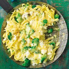 Sommer-Käsespätzle mit Mozzarella