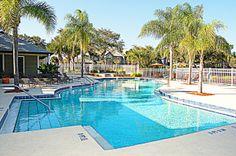 Beautiful Sparkling Swimming Pool
