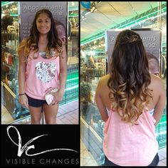 Look at that seamless transition! Now this is a show-stopping ombre by Judith. Seamless Transition, Salons, Change, Lounges