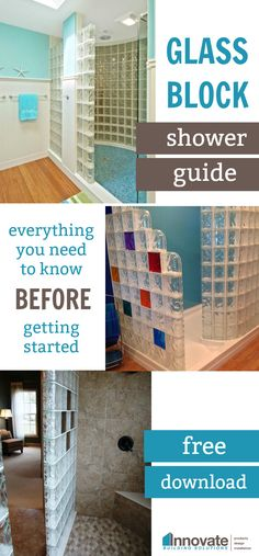The ultimate DIY guide to creating your dream bathroom with glass blocks!