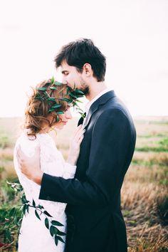 Bride, groom, just married, wedding photo, wedding inspiration, portrait. Невеста, жених, молодожёны, пара, свадебное фото, свадебное вдохновение. Фотограф Аня Безяева