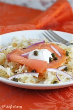 Orange-Roasted Salmon with Yogurt-Caper Sauce | Recipe | Salmon ...