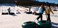 Snow Tubing at Wisp Resort, Deep Creek Lake, MD.....March 2013 with church group for first time ;)
