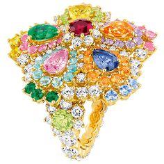 Мой милый Диор УКРАШЕНИЯ ❤ liked on Polyvore featuring jewelry and rings