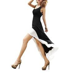 Allegra K Woman U Neck Stretchy Backless Irregular Hem Dress Black White M Allegra K,http://www.amazon.com/dp/B008OTKME8/ref=cm_sw_r_pi_dp_9qP0sb0X4377Z093