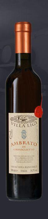 Ambrato - Passito - sweet wine from Italian Marche Region