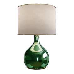 Colaba Table Lamp | Blown glass and brass lamps