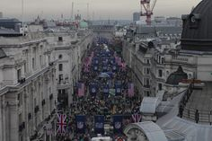#NFL Block Party on #RegentStreet Birdseye view.....I was there ...fantastic time