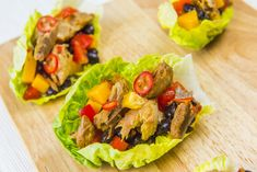 Lettuce cups filled with fruity Caribbean mackerel Crab Omelette Recipe, Mackerel Fish, Fish Recipes, Healthy Recipes, Mackerel Recipes, Lettuce Cups, 15 Minute Meals, Caribbean Recipes, Fish And Chips