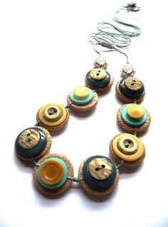 Beside The Sea Inspired . Vintage Buttons by designedbybettyshek, £19.00
