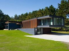 Like this Collingwood, ON home overlooking a pond by Altius Architecture.