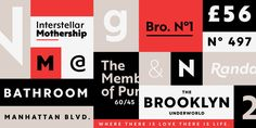 Consulter ce projet @Behance: «Brother 1816 (Typeface)»…