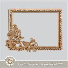 Product laser cut photo frames template, online laser cut design store. @ shop-msl.com Frame Template, Templates, Cut Photo, Kids Decor, Laser Cutting, Frames, Invitations, Wall Art, Store