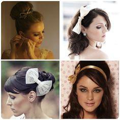 Casamento: Laço para o penteado da noiva | Noivinhas de Luxo
