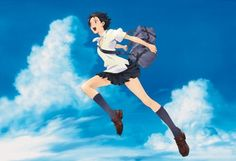 The Girl Who Leapt Through Time. I'll always love this movie <3