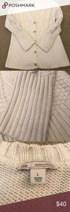 GAP Cable knit cardigan GUC cable cardigan. Only worn once, it is too warm for me GAP Sweaters Cardigans