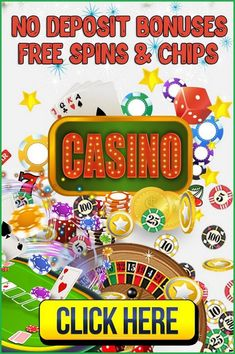 The casinos usually have promotions in which they give out free spins & free chip. An online casino no deposit bonus is a perfect way to start gambling without having to make a real money deposit. No deposit free spins are one of the most common form of this bonus, as they can be used on featured video slot games. A no deposit offer gives you free cash to gamble and play with in return for signing up. Players need to use the no deposit bonus code provided by the casino to redeem the… Gambling Sites, Online Gambling, Casino Sites, Best Online Casino, Online Casino Bonus, Play Free Slots, Free Slot Games, Money Games, Mobile Casino