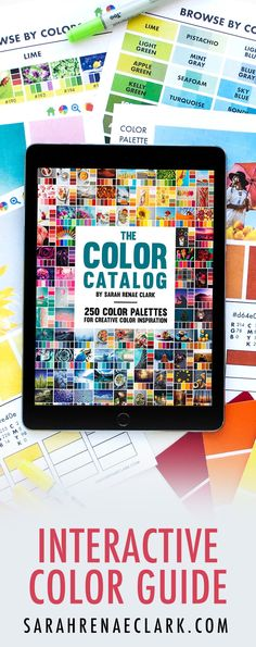 Choosing the right colors can be hard. But it doesn't have to be. Imagine a world of color in your pocket. The ability to find the perfect color combo for any project. That's what I've created for you with The Color Catalog.
