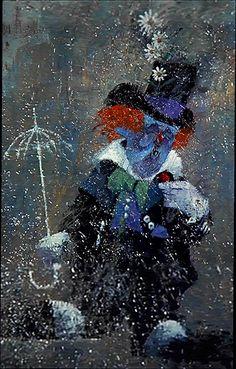 Night Gallery Season 1 - Make Me Laugh; painted by Tom Wright