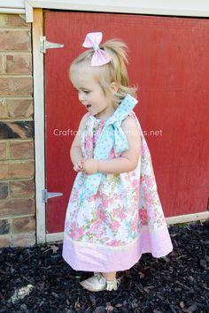 Love this adorable DIY Pillowcase dress!