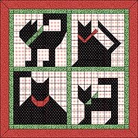 Several cat quilt patterns (applique, blocks, paper pieced)