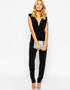 Love | Love Ruched Front Jumpsuit at ASOS