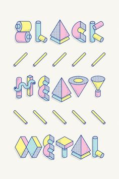 D / Lettering + Big Toy Typeface - www.vicentegarciamorillo.com