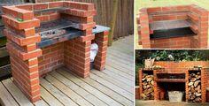 Simple DIY Brick BBQ Project | DIY Cozy Home