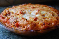 Spaghetti Pie Recipe from The Italian Kitchen