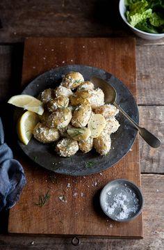 New Kartoffelsalat mit Dill und Zitrone