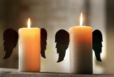 Unique Metal Candle Wings, 1 Set    $10.00@http://www.antiquefarmhouse.com/current-sale-events/french3.html