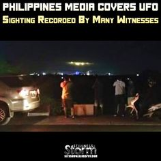 Stillness in the Storm : Philippines Media Covers UFO Sighting Recorded By Many Witnesses