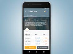 Money App - Exchange Vladislav Gavriluk