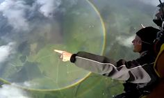 Skydiver soars over a rare rainbow in the shape of a perfect circle #DailyMail | These are some of the stories. See the rest @ http://www.twodaysnewstand.com/mail-onlinecom.html or Video's @ http://www.dailymail.co.uk/video/index.html And @ https://plus.google.com/collection/wz4UXB