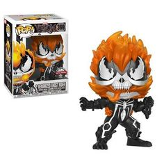 Out of all the new venom pops coming I have to say that the ghost rider and carnage are my favorite. If they do any other venomized characters I hope we get wolverine punisher thanos and night crawler. Funko Pop Marvel, Venom Funko Pop, Marvel Pop Vinyl, Funk Pop, Custom Funko Pop, Funko Pop Vinyl, Ghost Rider, Funko Pop Figures, Vinyl Figures
