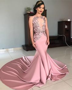 Looking for Straps Jewel Appliques Sexy Mermaid Prom Dresses Evening Dresses Online Shopping, Prom Dresses Online, See Through Prom Dress, South African Traditional Dresses, Shweshwe Dresses, Fashion Looks, Mermaid Prom Dresses, Evening Gowns, Appliques