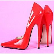 6.3in High Heels Women's Pumps Sexy Shoes  Patent... – USD $ 89.99