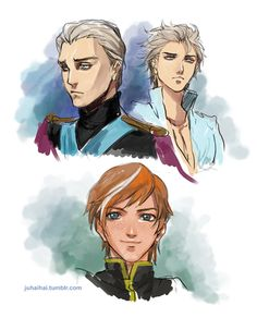 Even more genderbending Frozen. (by juhaihai) I would have enjoyed the movie SO much more like this. (Sorry, not sorry.)