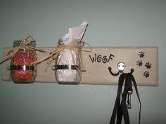 Shabby+Chic+Custom+Dog+Leash+Holder+Hanger+by+PineTerraceTreasures,+$34.99