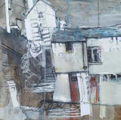 Dart Gallery - Contemporary British Art in Dartmouth, Devon and Online Contemporary Abstract Art, Modern Art, Collage Art Mixed Media, Landscape Artwork, Expressive Art, Abstract Canvas, White Art, Urban Art, Painting & Drawing
