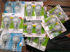 Crystal shops for energy saving bulbs!  #GELighting