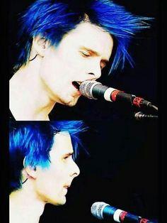 Cabello teñido de azul, Sólo Matt