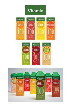 """""""Vitamin"""" Juice Packaging"""