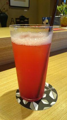 Rasberry squash at Mikado.