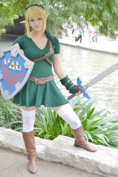 Link at the Riverwalk by Whatsername-Cosplay